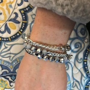 Chloe + Isabel Jewelry - Chloe + Isabel Bead and Chain Multi Wrap Bracelet